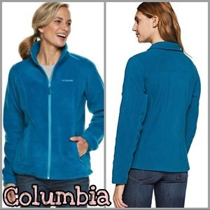 Columbia | Women's Fleece Zip Up Jacket SZ M